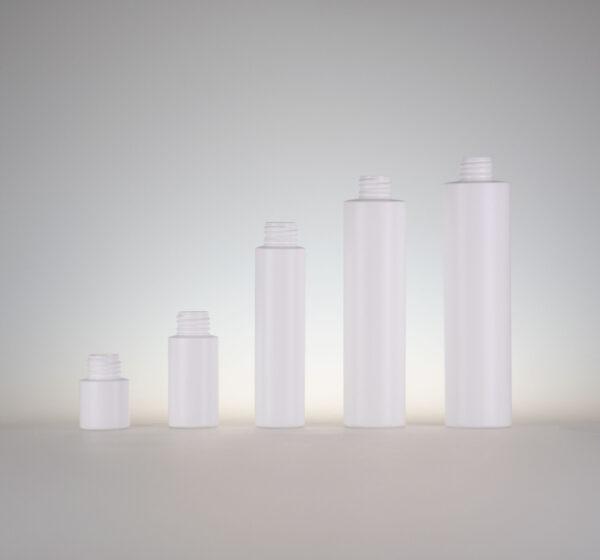 Flasche Skyline HDPE weiss