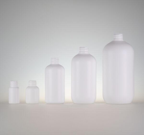 Flasche Vega HDPE weiss