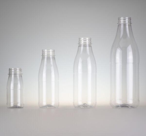 Getränkeflasche PET klar