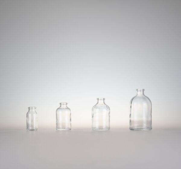 Injektionsflasche H-glas klar