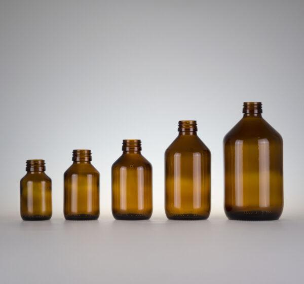 Medizinflasche Braunglas