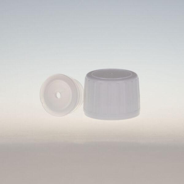 Schraubverschluss mit Spritzeinsatz Loch Ø 3,5mm